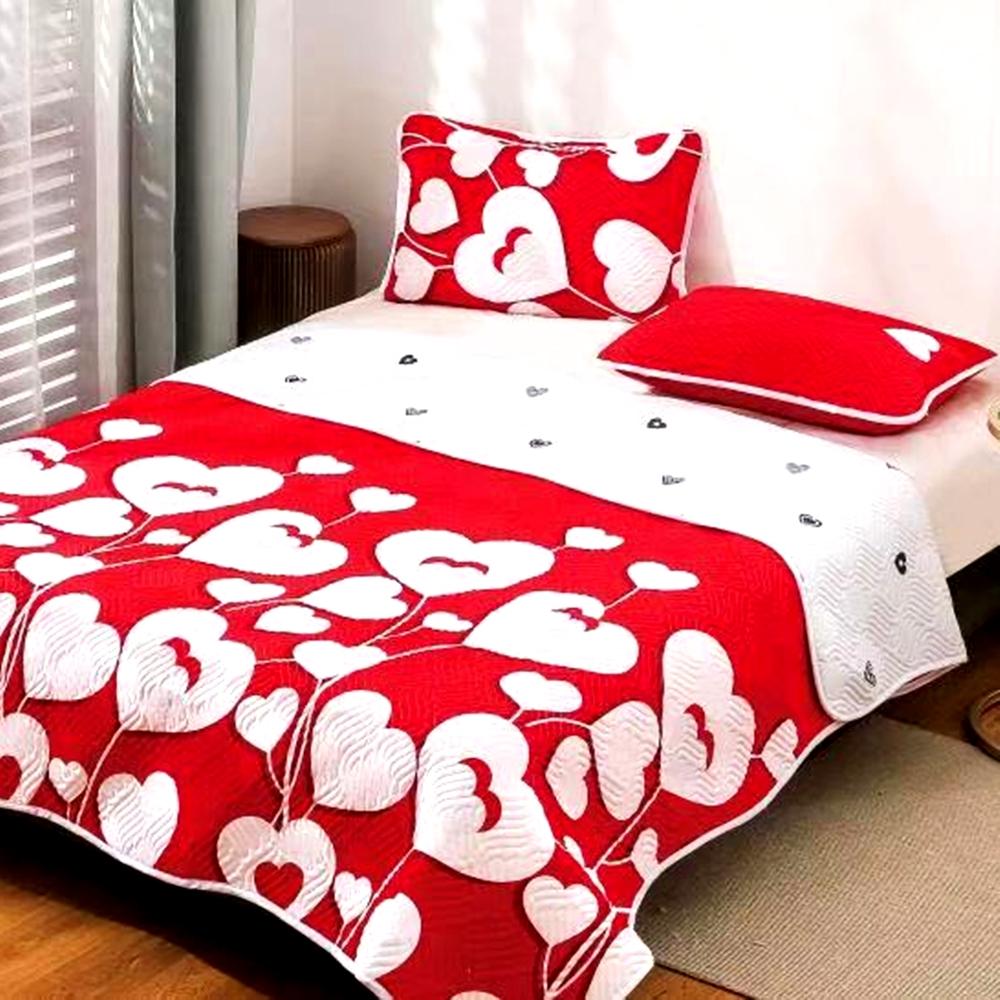 Cuvertura de pat Finet PUCIOASA + 2 fete de perna, 3 piese, 2 persoane, CUV122 CUV122