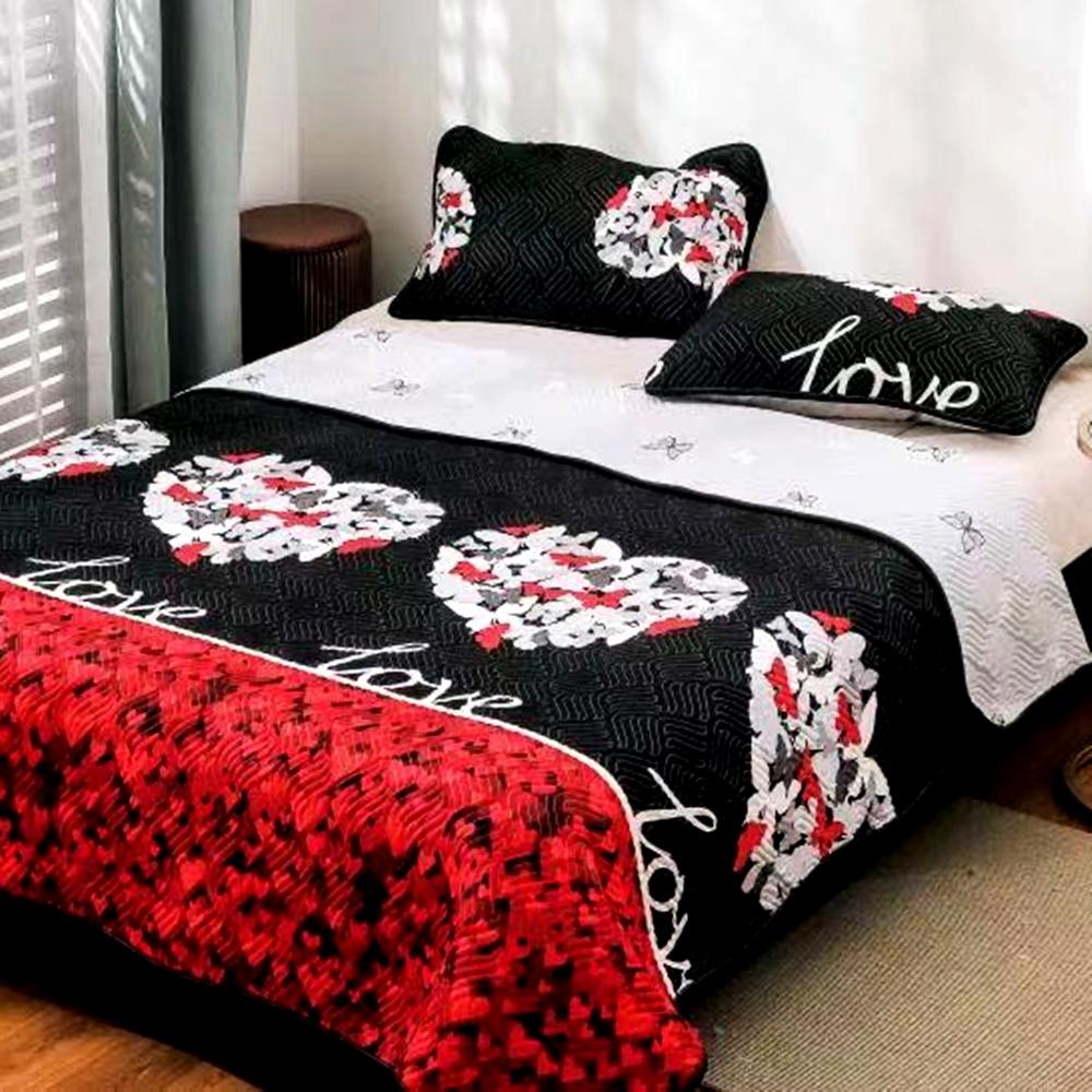 Cuvertura de pat Finet PUCIOASA + 2 fete de perna, 3 piese, 2 persoane, CUV123 CUV123