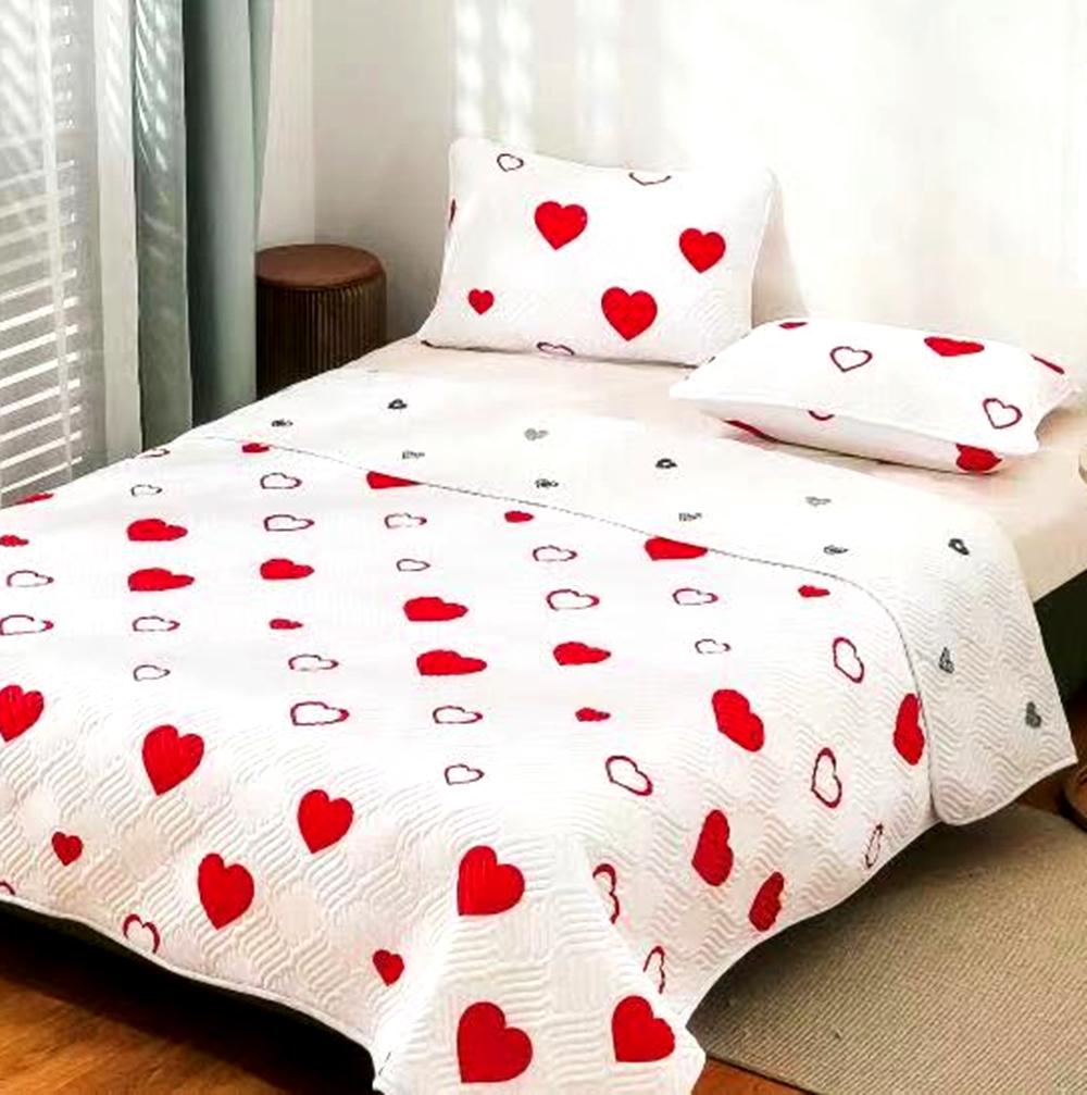 Cuvertura de pat Finet PUCIOASA + 2 fete de perna, 3 piese, 2 persoane, CUV124 CUV124