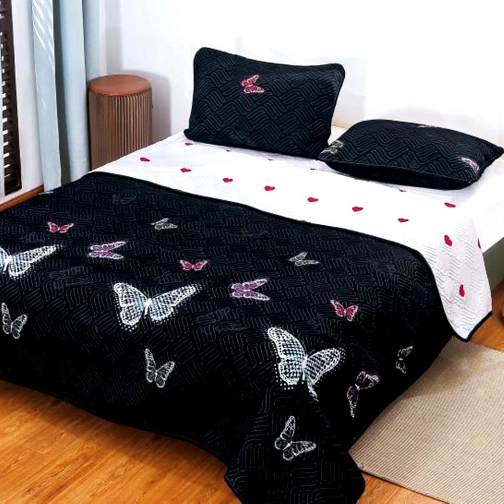 Cuvertura de pat Finet PUCIOASA + 2 fete de perna, 3 piese, 2 persoane, CUV127 CUV127