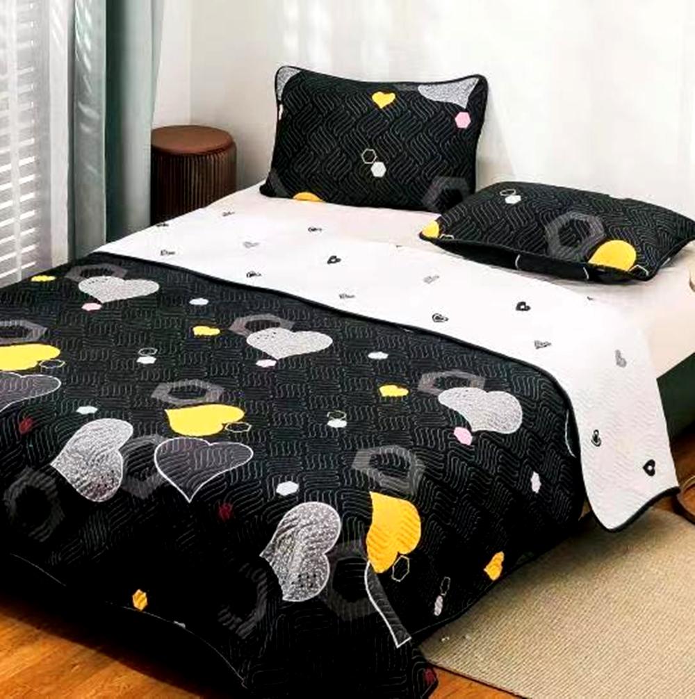 Cuvertura de pat Finet PUCIOASA + 2 fete de perna, 3 piese, 2 persoane, CUV130 CUV130
