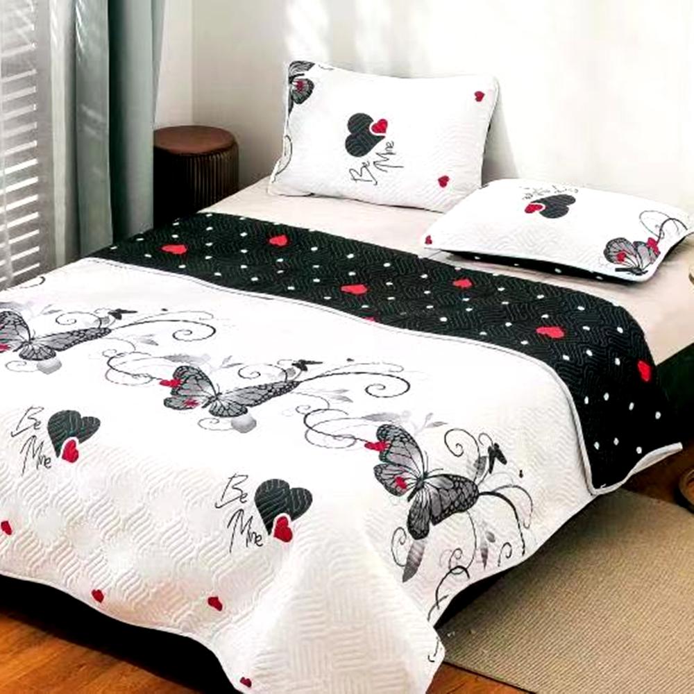 Cuvertura de pat Finet PUCIOASA + 2 fete de perna, 3 piese, 2 persoane, CUV131 CUV131