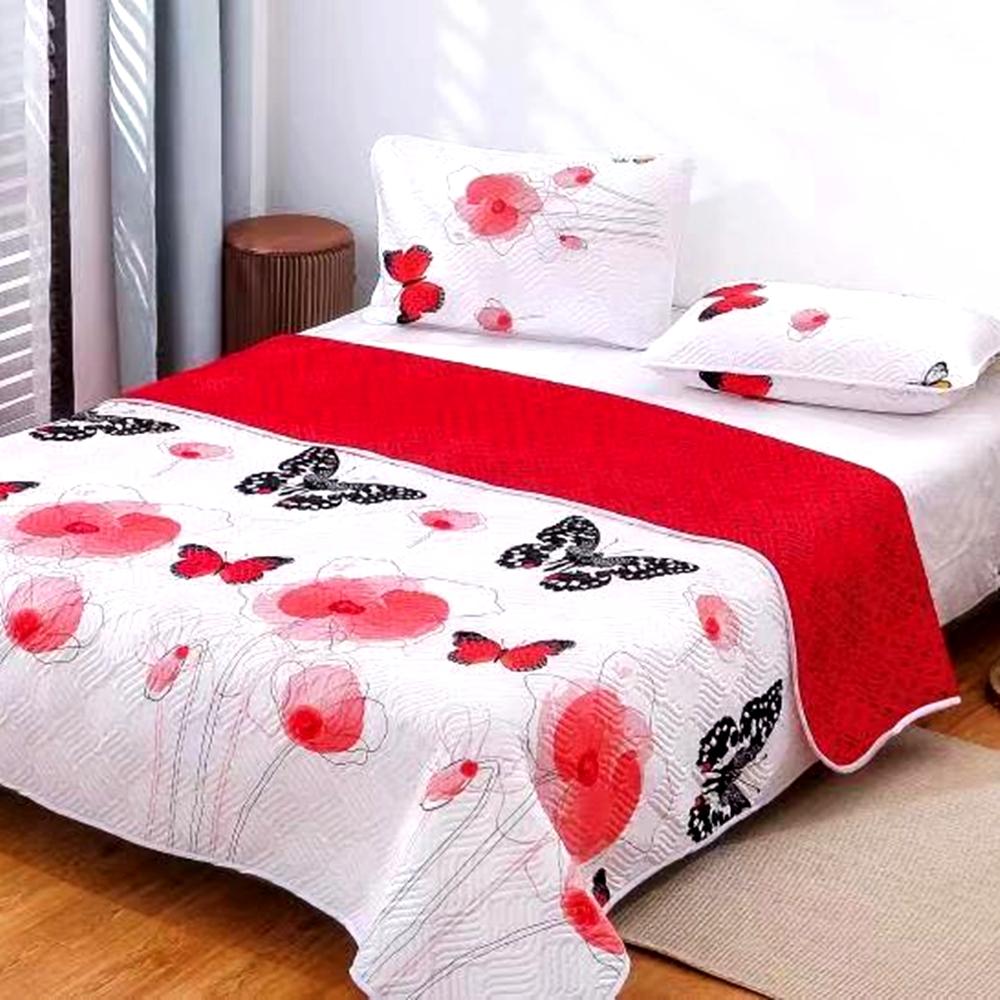 Cuvertura de pat Finet PUCIOASA + 2 fete de perna, 3 piese, 2 persoane, CUV132