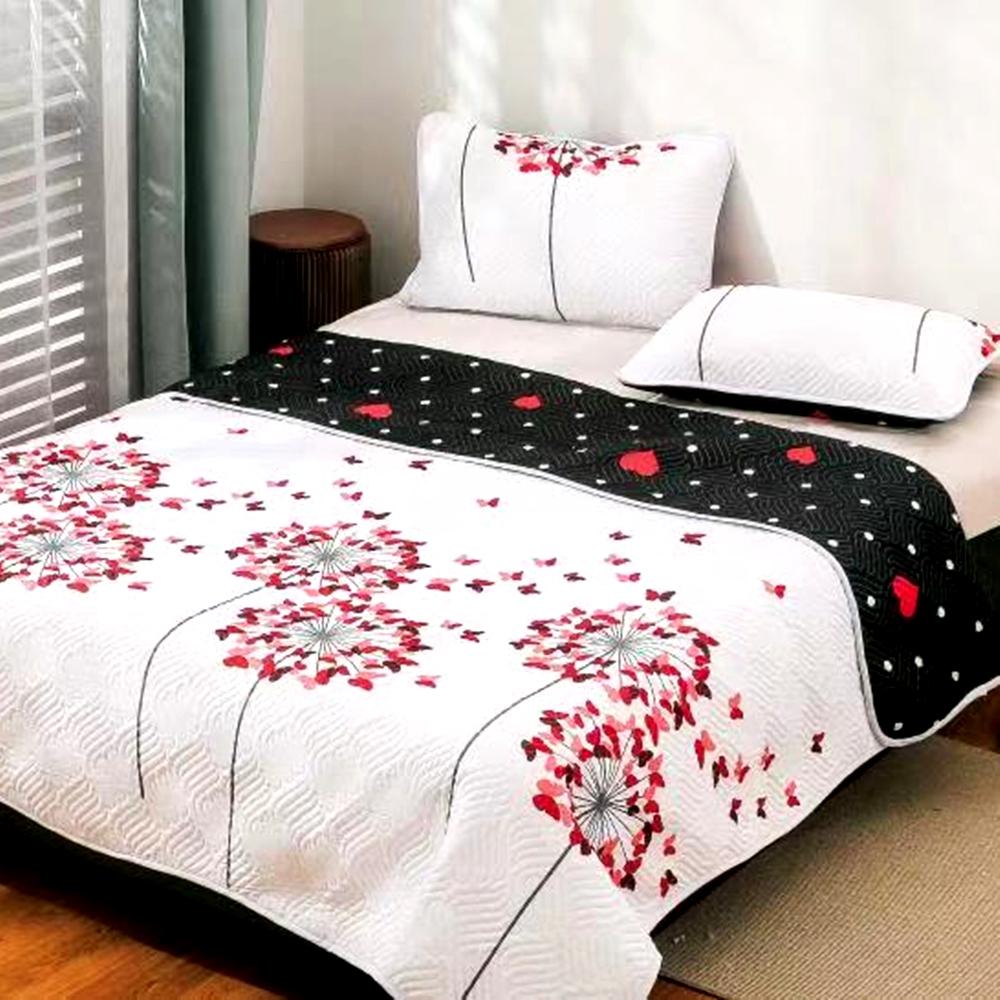 Cuvertura de pat Finet PUCIOASA + 2 fete de perna, 3 piese, 2 persoane, CUV133 CUV133