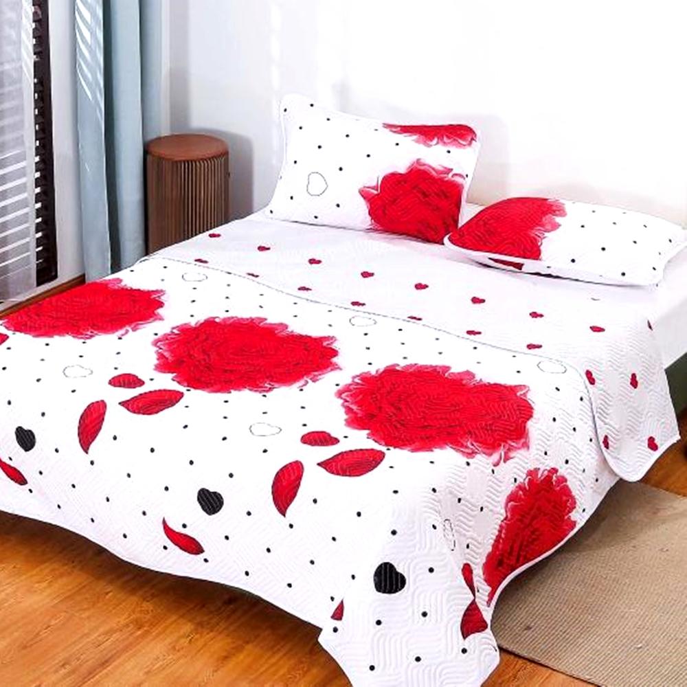 Cuvertura de pat Finet PUCIOASA + 2 fete de perna, 3 piese, 2 persoane, CUV134 CUV134