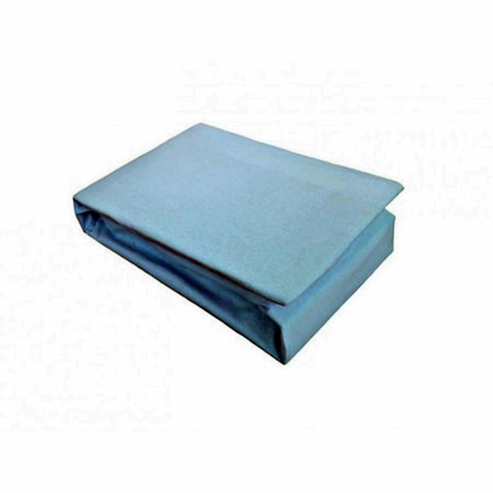 SET Husa de pat bumbac + 2 fete de perna BLEU 180x200 SET-HUSA-BLEU-180x200